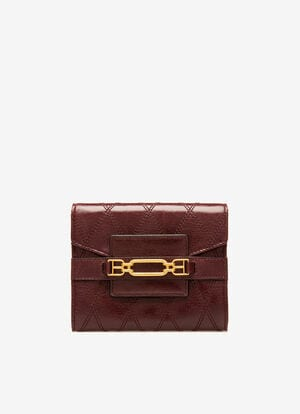 BURGUNDY BOVINE Wallets - Bally