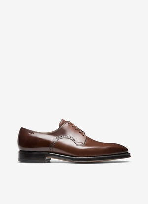 MARRON CALF Chaussures À Lacets et Derbies - Bally