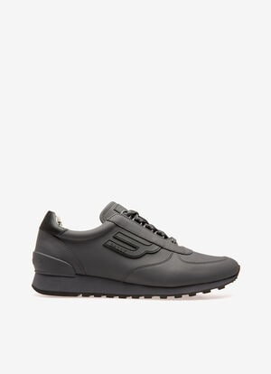 GRIS CALF Sneakers - Bally