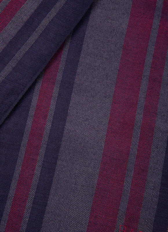 BLEU MIX SILK/WOOL Écharpes - Bally