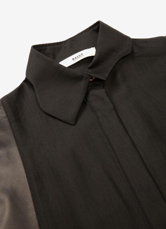 BLACK MIX COTTON/SILK Dresses and Skirts - Bally