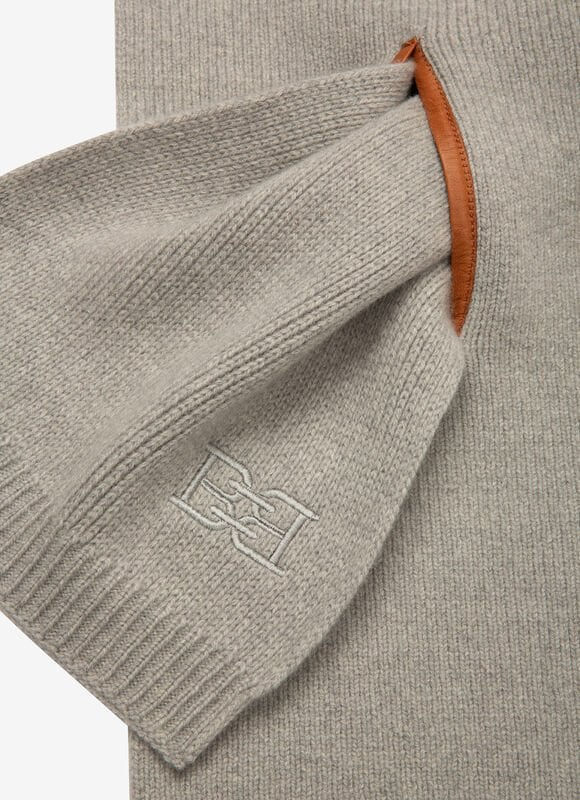 GREY MIX WOOL Scarves - Bally