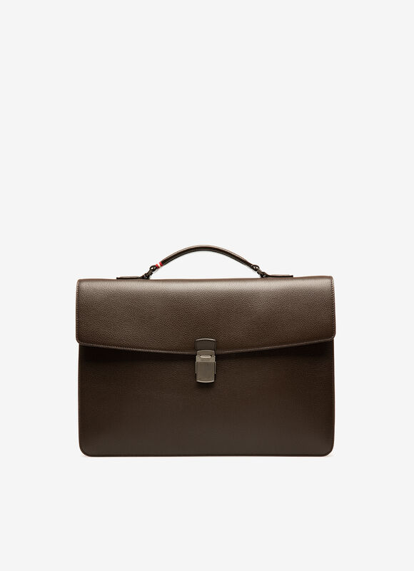 MARRON BOVINE Porte-documents - Bally