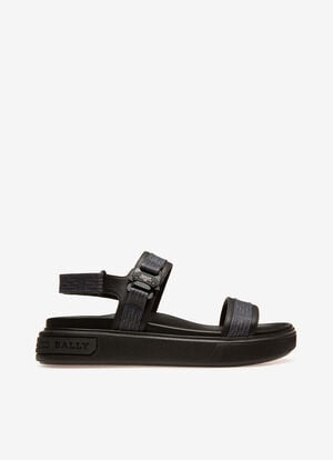 BLUE PVC Sandals and Slides - Bally
