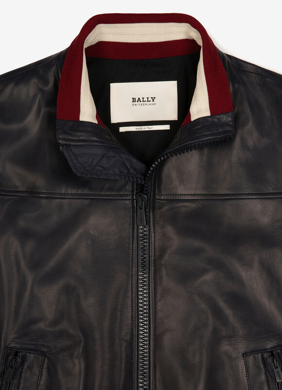 BLUE LAMB Leather - Bally