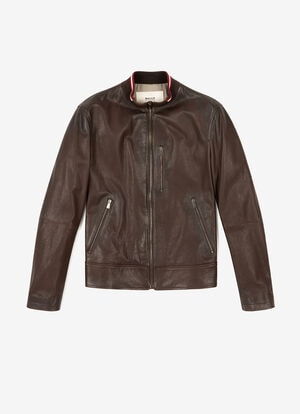 BROWN LAMB Leather - Bally