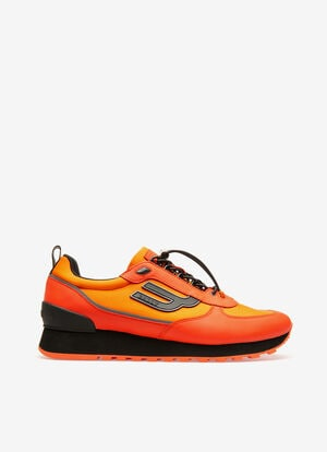 ORANGE CALF Sneakers - Bally