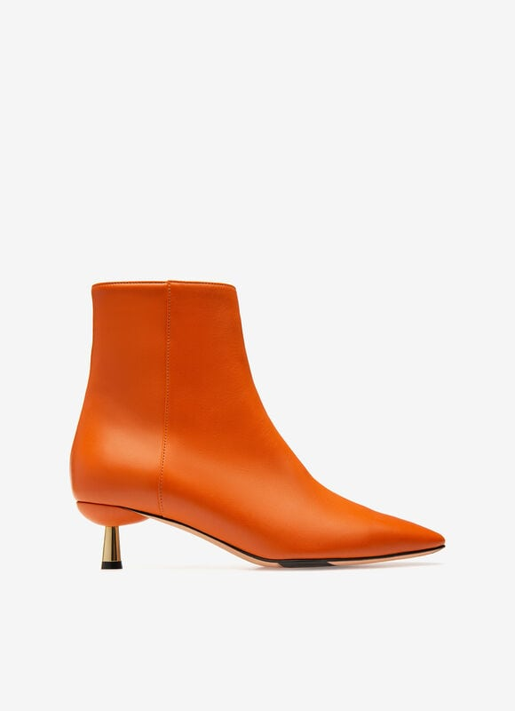ORANGE CALF Bottes - Bally