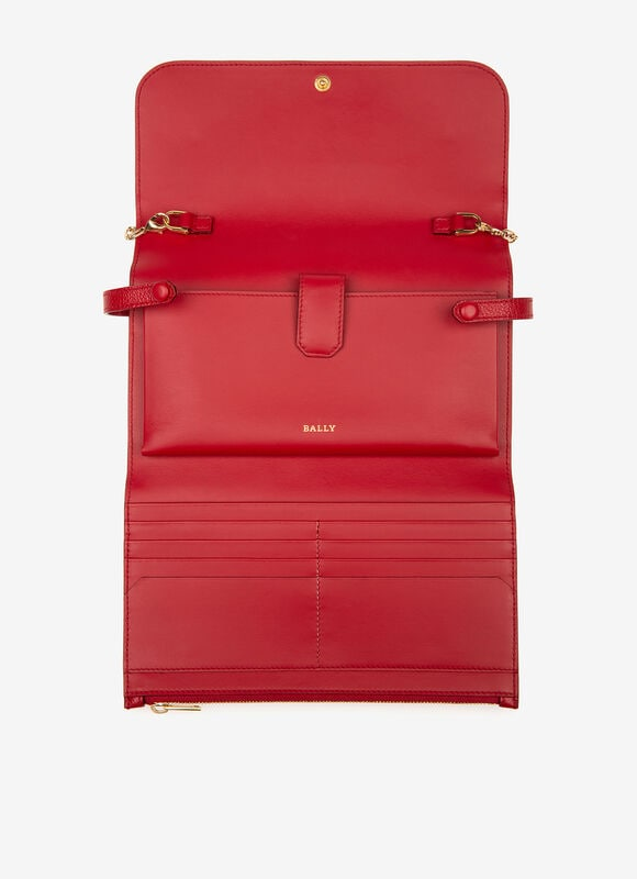 ROUGE BOVINE Portefeuilles - Bally