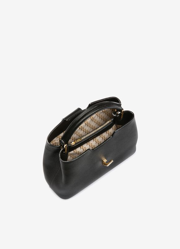 BLACK BOVINE Top Handle Bags - Bally