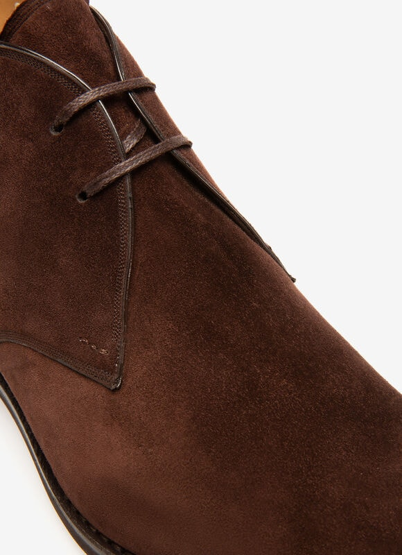 MARRON CALF Bottines - Bally