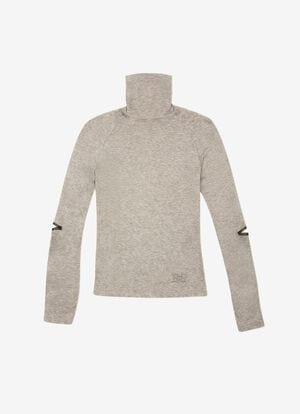 GREY MIX WOOL Tops - Bally