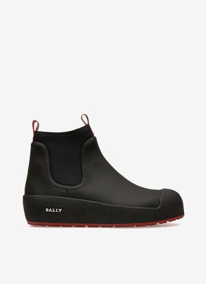 NOIR CALF Snow Boots - Bally