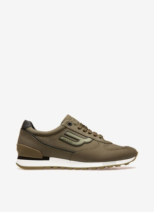 GREEN CALF Sneakers - Bally