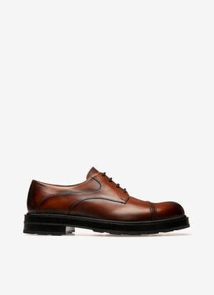 ORANGE CALF Chaussures À Lacets et Derbies - Bally
