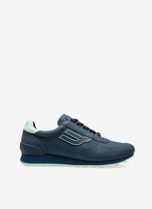 BLEU CALF Sneakers - Bally