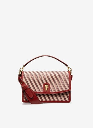 RED FABRIC Cross-body Bags - Bally
