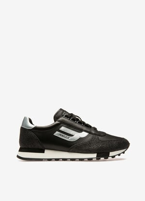 BLACK MIX SYNT Sneakers - Bally