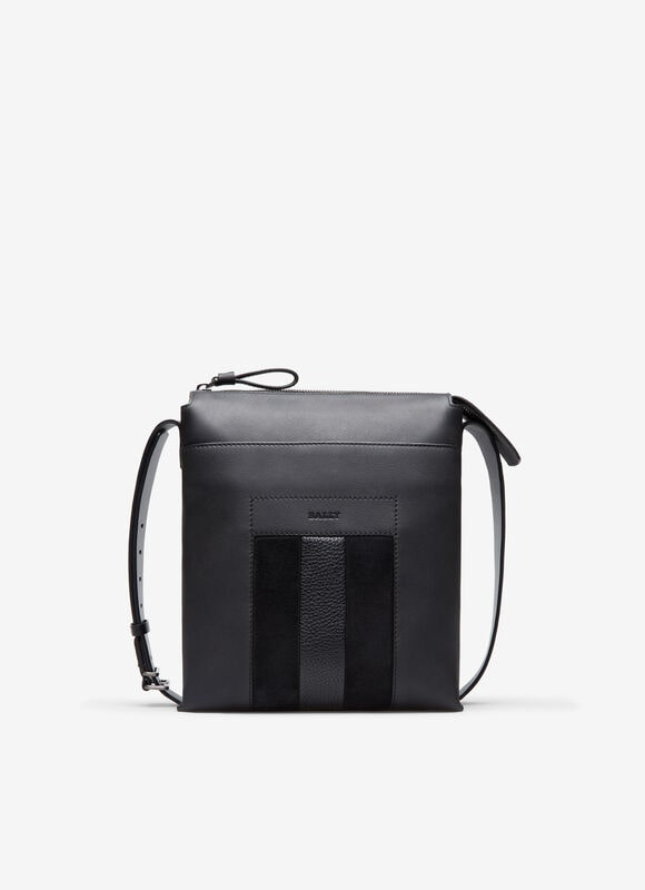 GREY CALF Messenger Bags - Bally