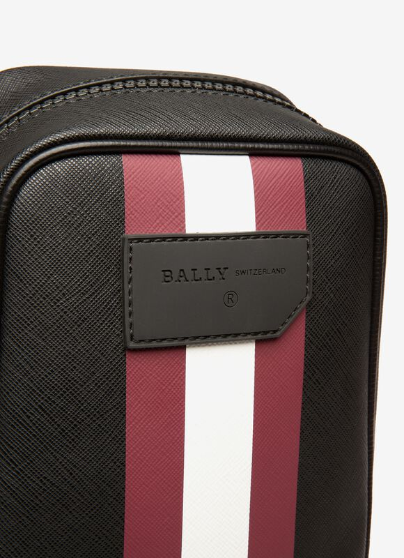 NOIR SYNTHETIC Sacs messenger - Bally