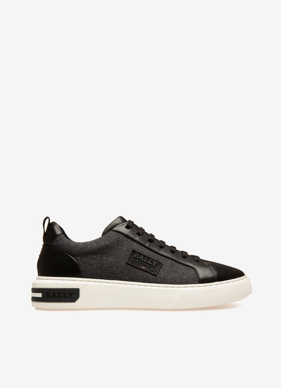GRIS MIX SYNT Sneakers - Bally