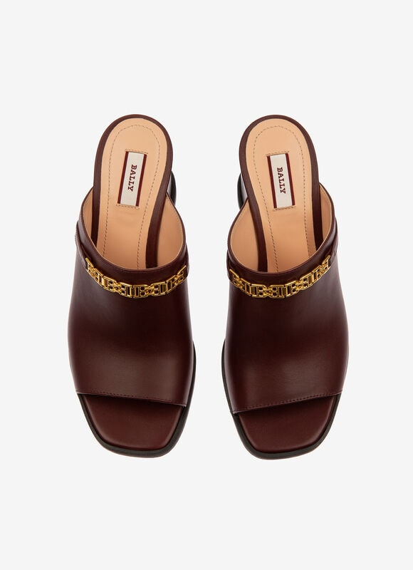 MARRON CALF Sandales - Bally