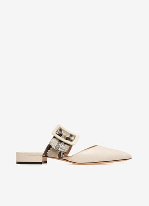 BLANC GOAT Chaussures plates - Bally