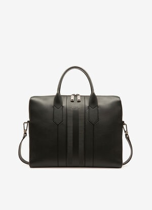 NOIR CALF Porte-documents - Bally