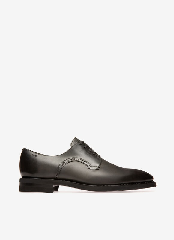 GREY CALF Lace-Ups and Monks - Bally