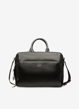 NOIR MIX COTTON/SYNT Porte-documents - Bally
