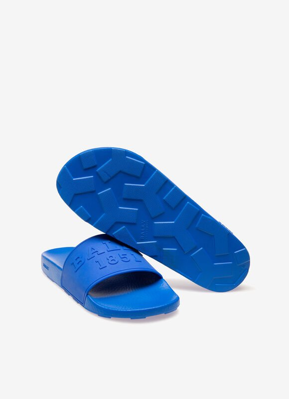 BLUE RUBBER Sandals and Slides - Bally