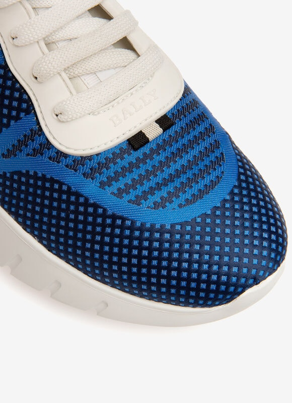 BLUE MIX COTTON Sneakers - Bally