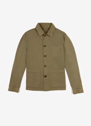 BROWN COTTON Outerwear - Bally