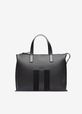 GRIS CALF Porte-documents - Bally