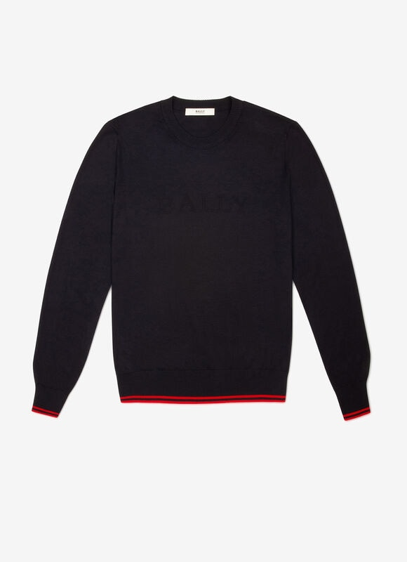 BLUE MIX COTTON Knitwear - Bally