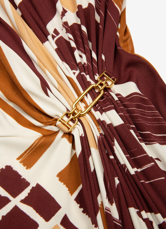 BORDEAUX MIX VISC/SILK Robes et Jupes - Bally