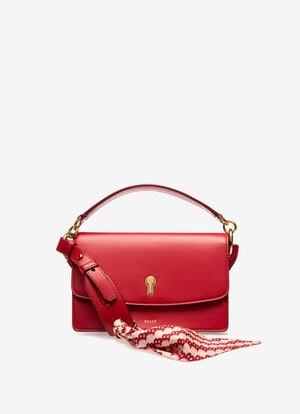 RED CALF Cross-body Bags - Bally